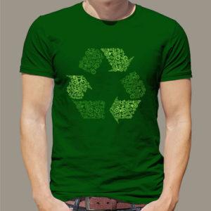 TSHIRT recyclig velo